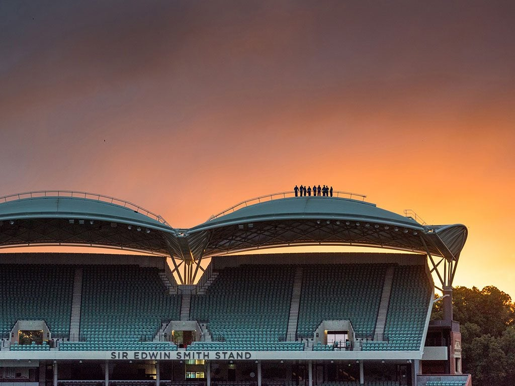 RoofClimb at Adelaide Oval Twilight Tours