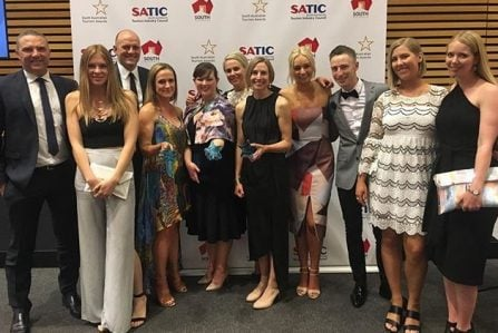 RoofClimb Team South Australian Tourism Awards 2016