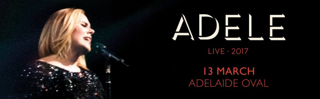 Adele Adelaide Oval
